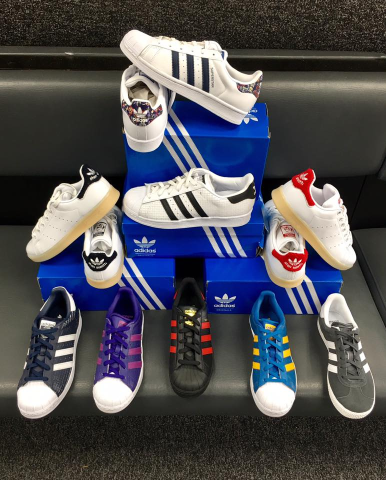 Adidas are back! A new look for the classics.
