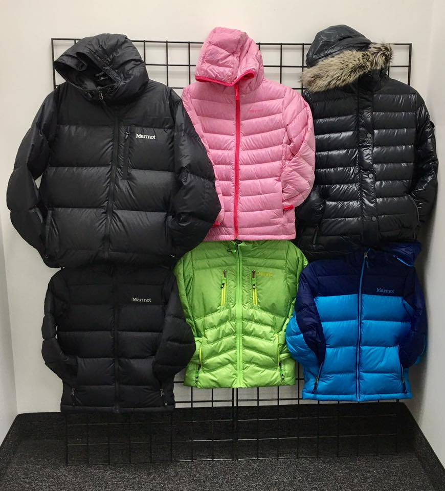 Marmot Down Coats for the entire family