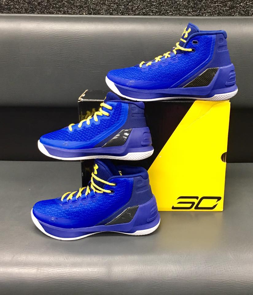 Curry 3 has arrived...Limited availability