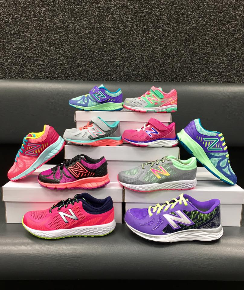 It's all about New Balance! Just arrived Spring 2017 styles.