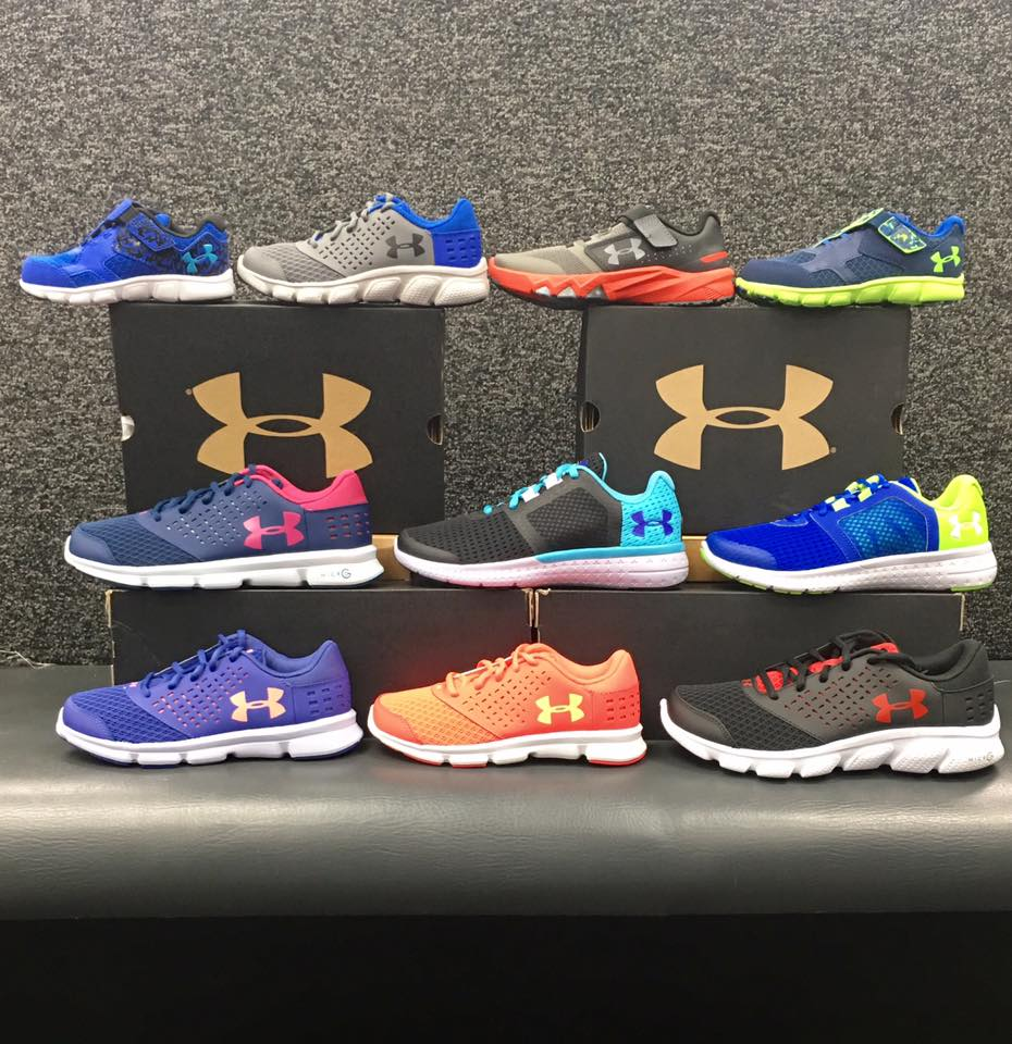 Under Armour in the house! NEW 2017 styles arriving daily!
